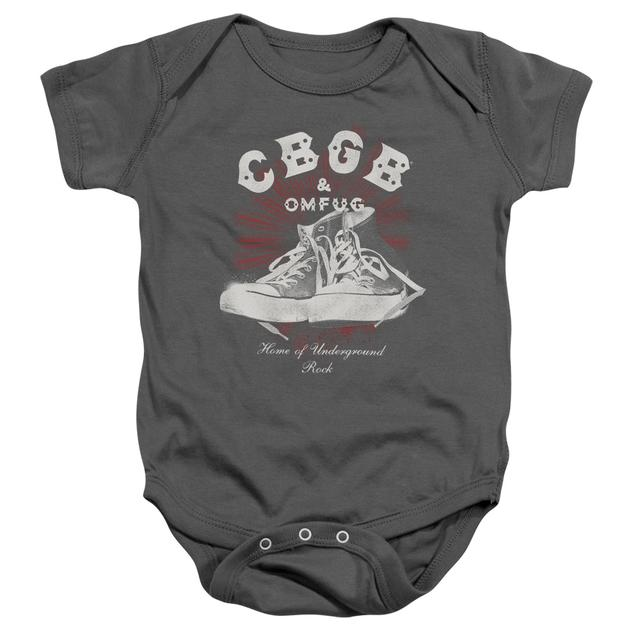 CBGB Baby Onesie | HIGH TOPS Infant Snapsuit