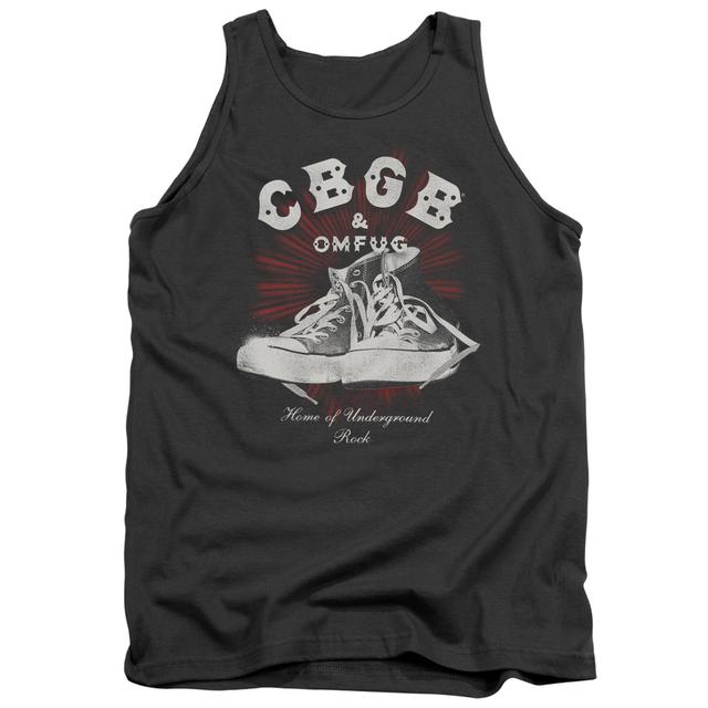 CBGB Tank Top | HIGH TOPS Sleeveless Shirt
