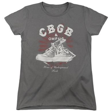 CBGB Women's Shirt | HIGH TOPS Ladies Tee