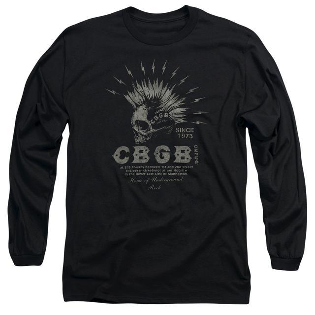 CBGB T Shirt | ELECTRIC SKULL Premium Tee