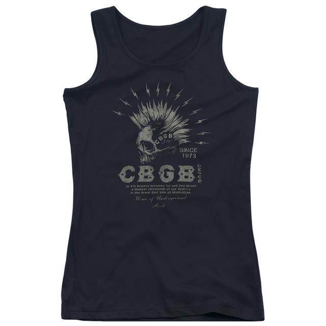 CBGB ELECTRIC SKULL