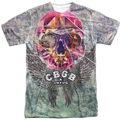 CBGB Shirt | GRAFFITI SKULL Tee