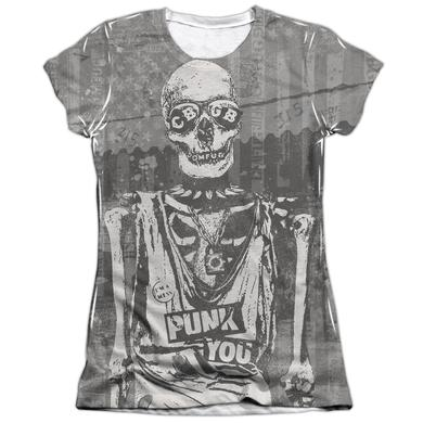 CBGB Junior's Shirt | PUNK YOU Junior's Tee