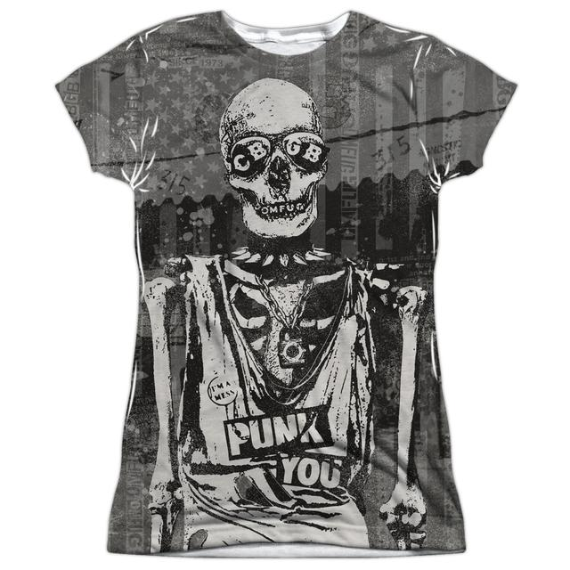 CBGB Junior's T Shirt | PUNK YOU Sublimated Tee