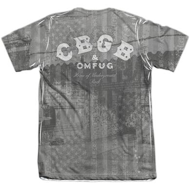 CBGB Shirt | PUNK YOU (FRONT/BACK PRINT) Tee
