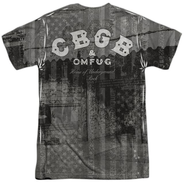 CBGB Shirt   PUNK YOU (FRONT/BACK PRINT) Tee