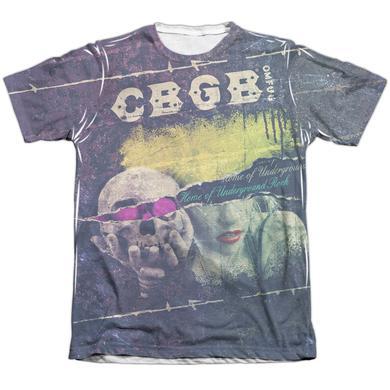 CBGB Shirt | TORN (FRONT/BACK PRINT) Tee