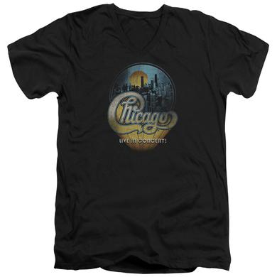 Chicago T Shirt (Slim Fit) | LIVE Slim-fit Tee