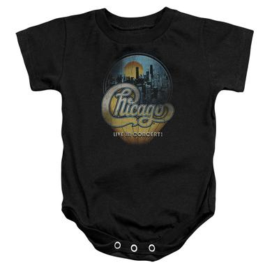 Chicago Baby Onesie | LIVE Infant Snapsuit