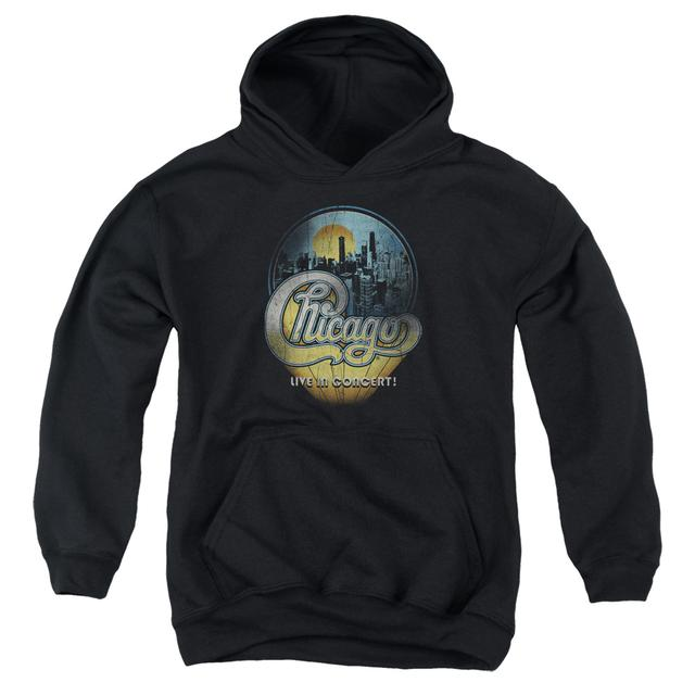 Chicago Youth Hoodie | LIVE Pull-Over Sweatshirt