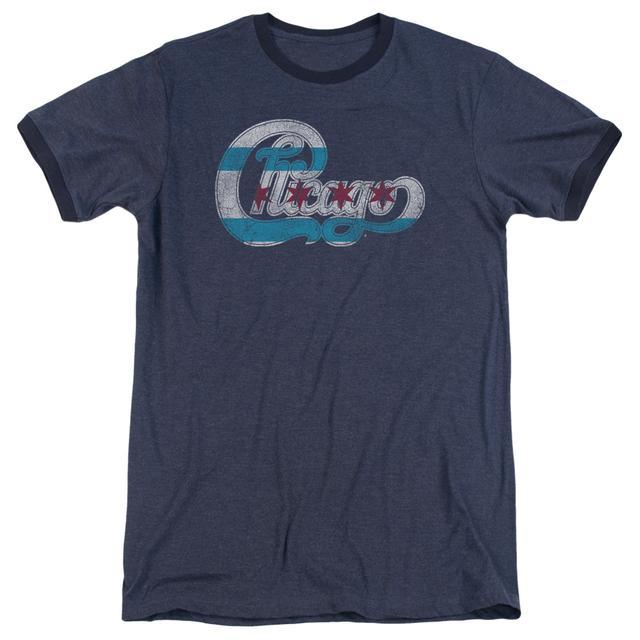 Chicago Shirt | FLAG LOGO Premium Ringer Tee