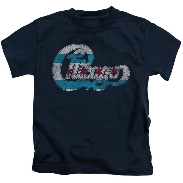 Chicago Kids T Shirt   FLAG LOGO Kids Tee