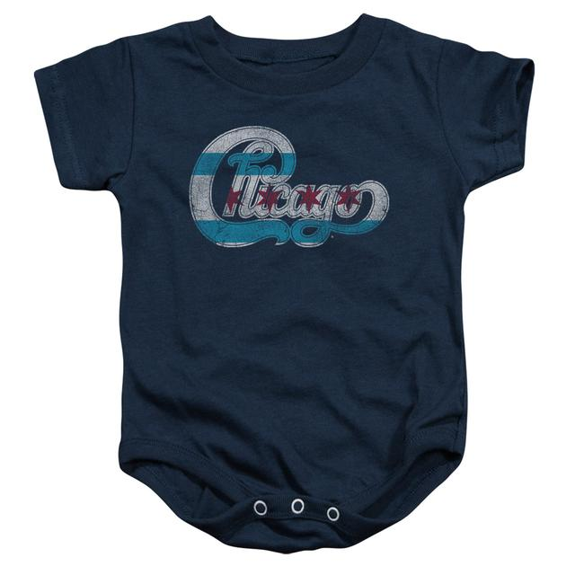Chicago Baby Onesie | FLAG LOGO Infant Snapsuit