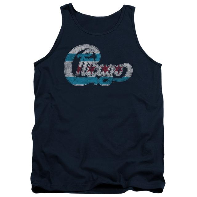Chicago Tank Top | FLAG LOGO Sleeveless Shirt
