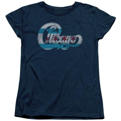 Chicago Women's Shirt | FLAG LOGO Ladies Tee