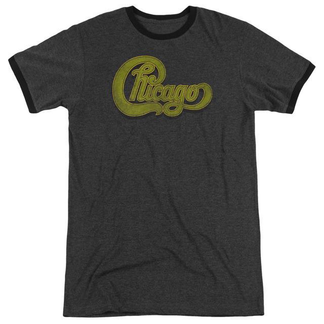 Chicago Shirt | DISTRESSED Premium Ringer Tee