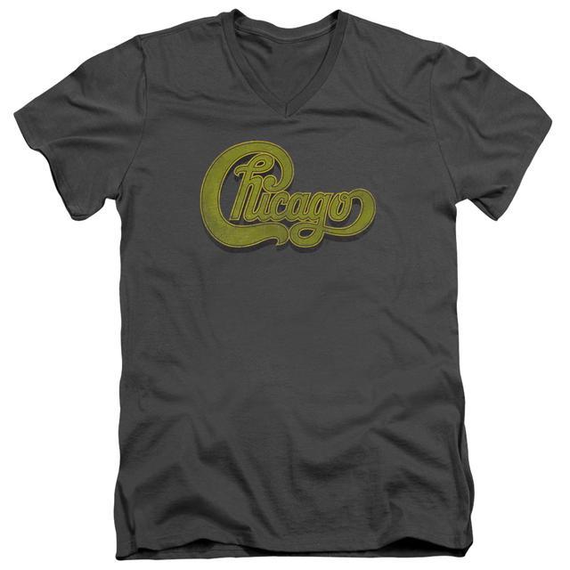 Chicago T Shirt (Slim Fit) | DISTRESSED Slim-fit Tee