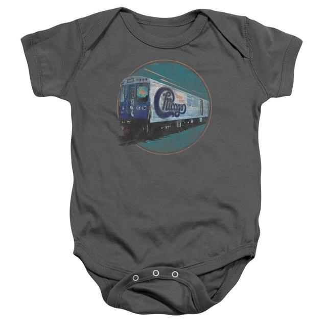 Chicago Baby Onesie | THE RAIL Infant Snapsuit