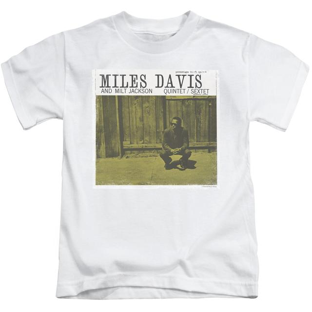 Miles Davis Kids T Shirt | MILES AND MILT Kids Tee