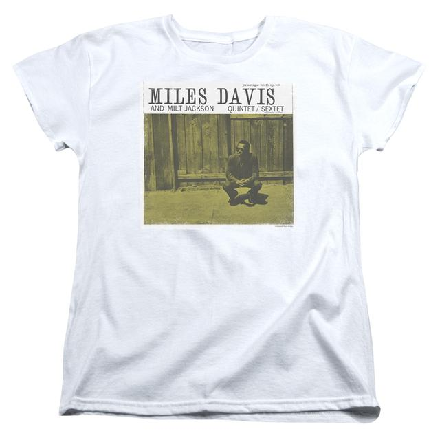 Miles Davis Women's Shirt | MILES AND MILT Ladies Tee
