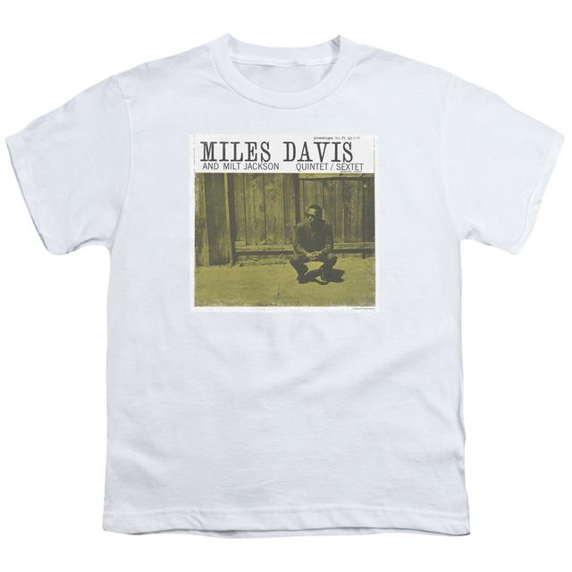 Miles Davis Youth Tee | MILES AND MILT Youth T Shirt