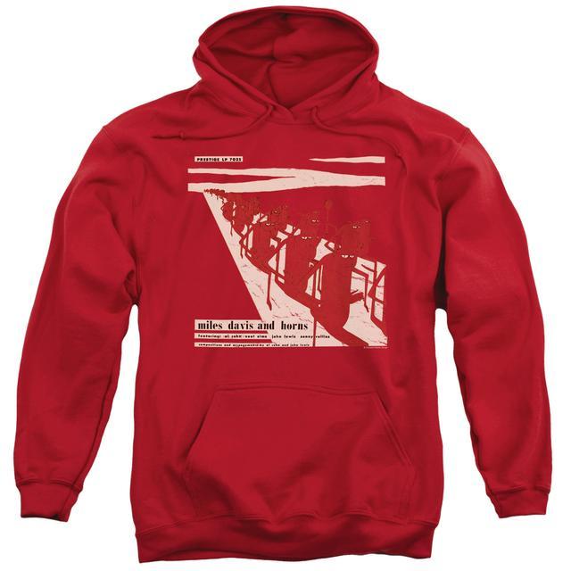 Miles Davis Hoodie | DAVIS AND HORN Pull-Over Sweatshirt