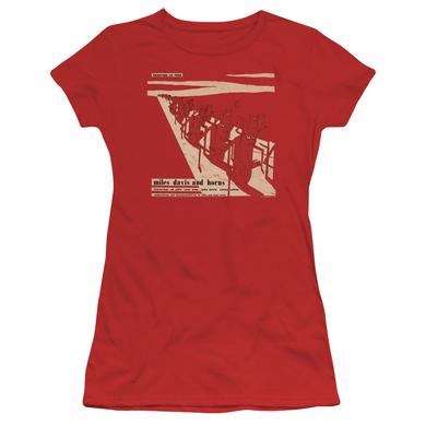 Miles Davis Juniors Shirt | DAVIS AND HORN Juniors T Shirt