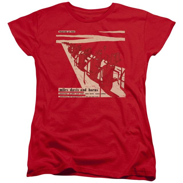 Miles Davis Women's Shirt | DAVIS AND HORN Ladies Tee