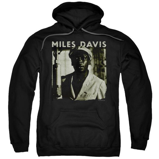 Miles Davis Hoodie | MILES PORTRAIT Pull-Over Sweatshirt