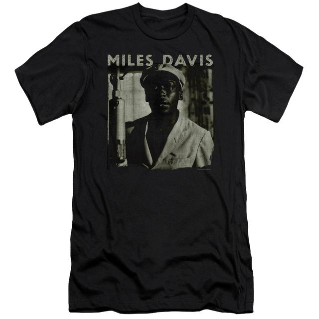 Miles Davis Slim-Fit Shirt | MILES PORTRAIT Slim-Fit Tee