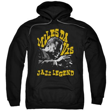 Miles Davis Hoodie | JAZZ LEGEND Pull-Over Sweatshirt