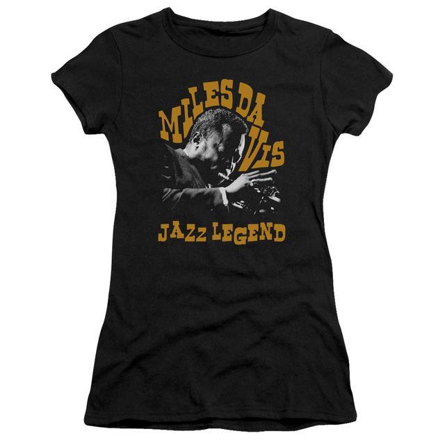 Miles Davis Juniors Shirt | JAZZ LEGEND Juniors T Shirt