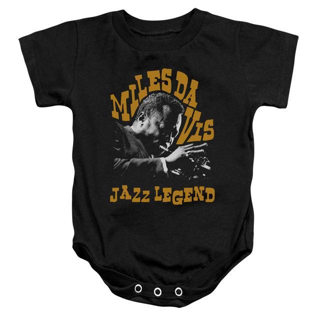 Miles Davis Baby Onesie | JAZZ LEGEND Infant Snapsuit