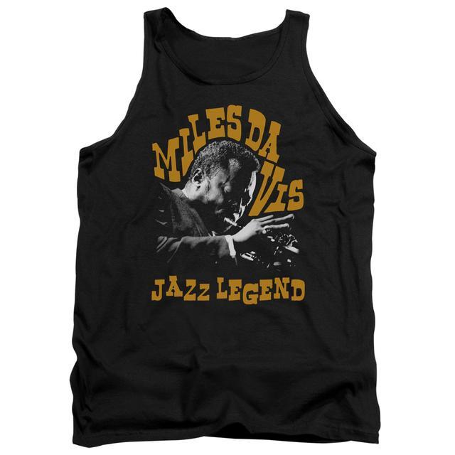 Miles Davis Tank Top   JAZZ LEGEND Sleeveless Shirt