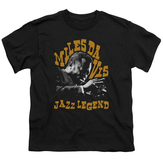 Miles Davis Youth Tee | JAZZ LEGEND Youth T Shirt
