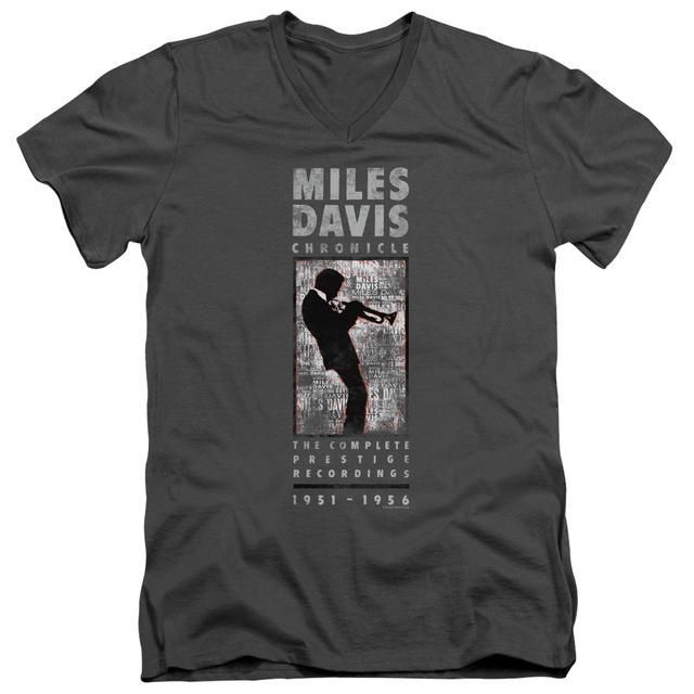 Miles Davis T Shirt (Slim Fit) | MILES SILHOUETTE Slim-fit Tee