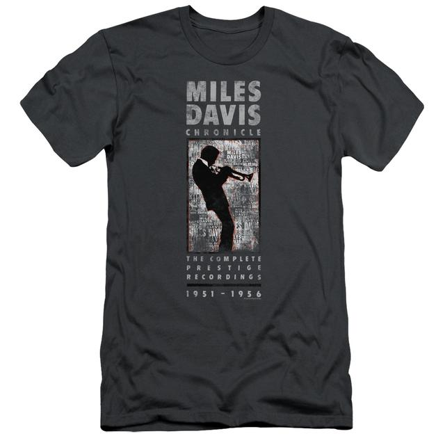 Miles Davis Slim-Fit Shirt | MILES SILHOUETTE Slim-Fit Tee