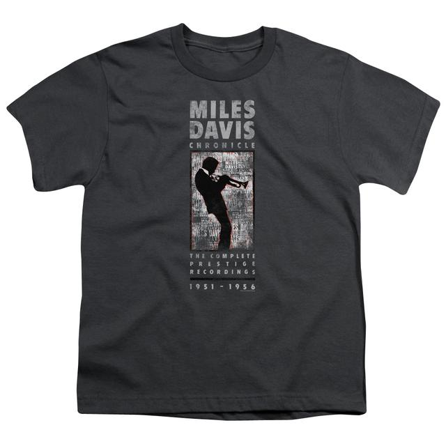 Miles Davis Youth Tee | MILES SILHOUETTE Youth T Shirt