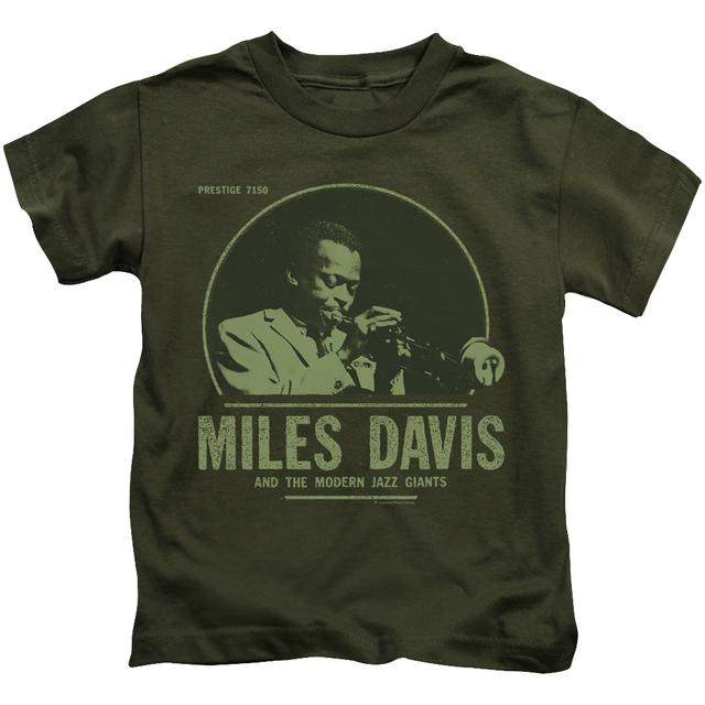 Miles Davis Kids T Shirt | THE GREEN MILES Kids Tee