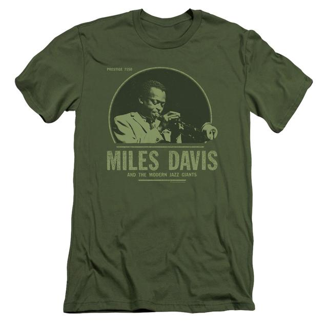 Miles Davis Slim-Fit Shirt | THE GREEN MILES Slim-Fit Tee