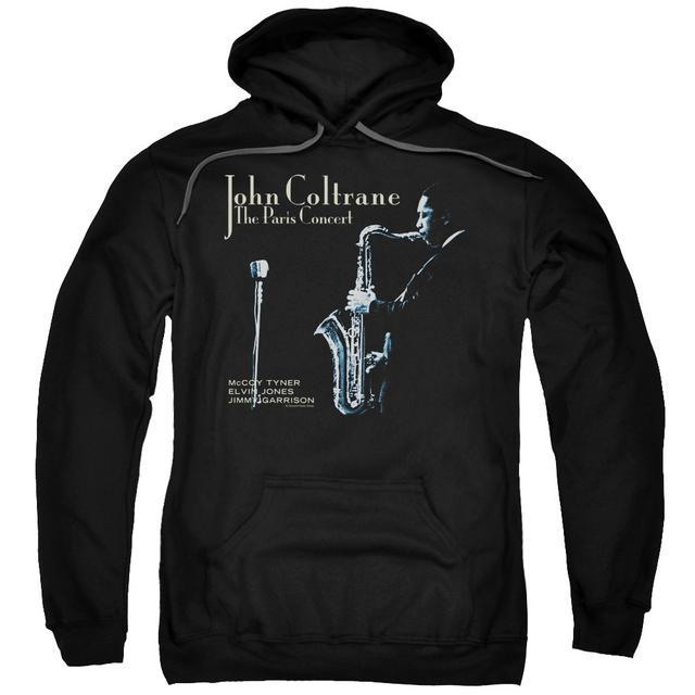 John Coltrane Hoodie | PARIS COLTRANE Pull-Over Sweatshirt