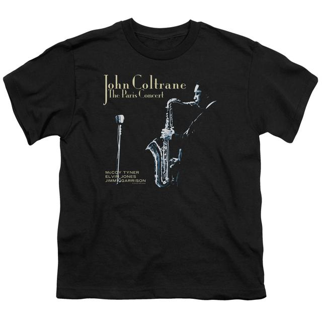 John Coltrane Youth Tee | PARIS COLTRANE Youth T Shirt