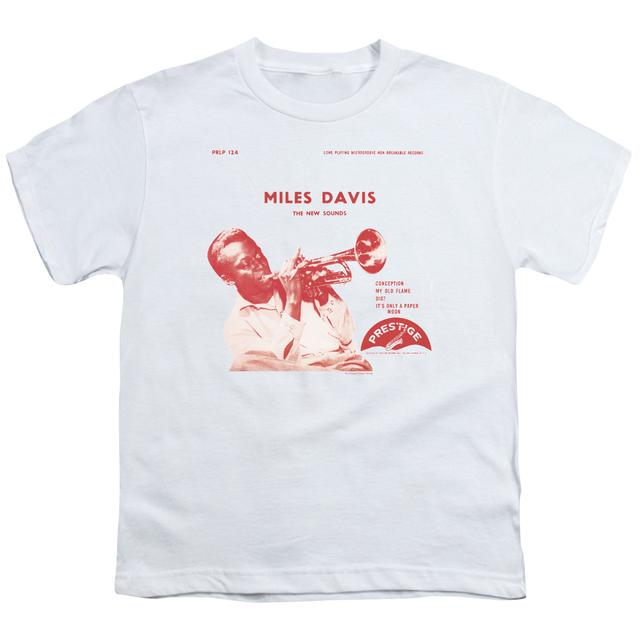Miles Davis Youth Tee | THE NEW SOUNDS Youth T Shirt