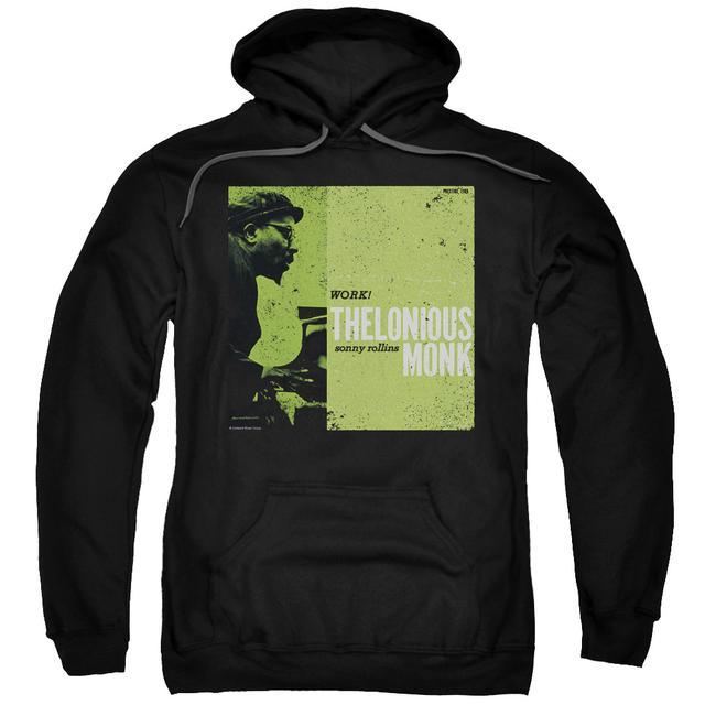 Thelonious Monk Hoodie | WORK Pull-Over Sweatshirt