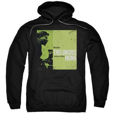 Thelonious Monk Hoodie   WORK Pull-Over Sweatshirt