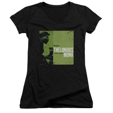 Thelonious Monk Junior's V-Neck Shirt   WORK Junior's Tee