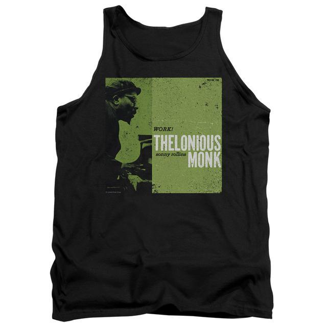 Thelonious Monk Tank Top | WORK Sleeveless Shirt