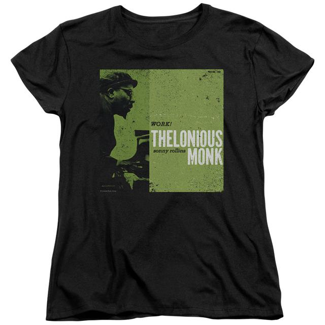 Thelonious Monk Women's Shirt | WORK Ladies Tee