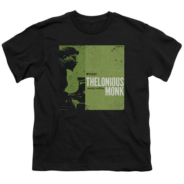 Thelonious Monk Youth Tee | WORK Youth T Shirt