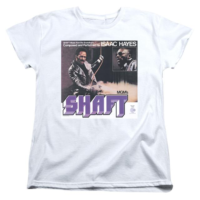 Isaac Hayes Women's Shirt | SHAFT Ladies Tee